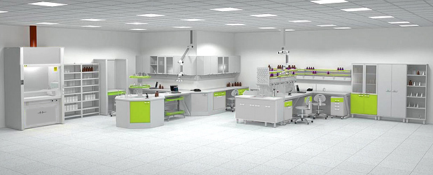 Laboratory furniture GIMlab